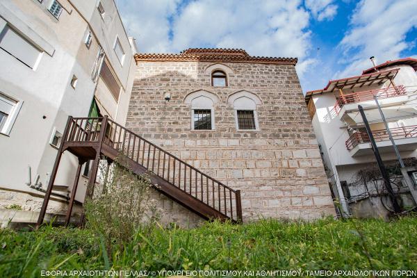 """Θολωτό οθωμανικό κτήριο (""""τουρμπές"""")"""