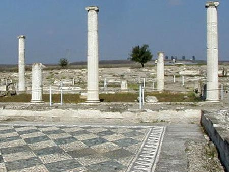 Ο Αρχαιολογικός Χώρος της Πέλλας
